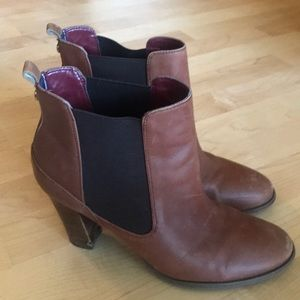 Leather boots Tommy Hilfiger